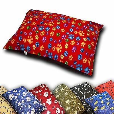 Luxury Dog Bed With Removable Zipped Cover Large Size Washable Pet Cushion Cover