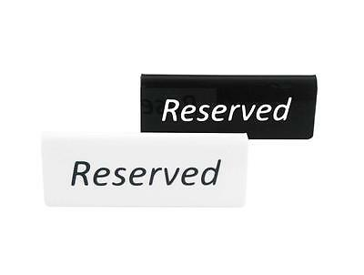High Quality Restaurant Or Bar Plastic Reserved Table Tabletop Tableware Signs