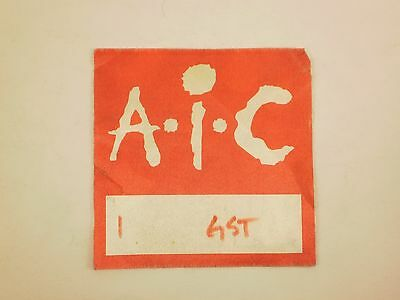 Alice In Chains Backstage Pass used