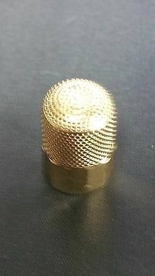 Shining Old 14k Yellow Gold  Carter Gough & CO Thimble #8