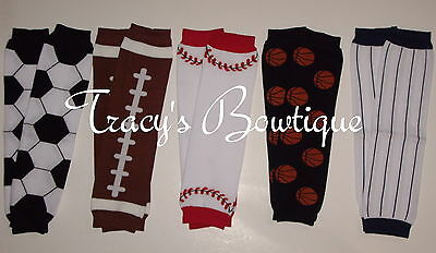 1 Pair Baby Toddler Boys Stretch Cotton Leg/Arm Warmers Sports Ball Photo Props