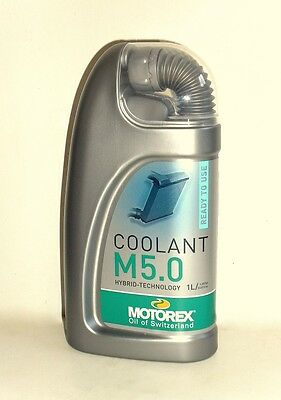 Motorex Coolant M5,0 Kühler Frostschutz -ready to use-  (Hybrid-Technologie)