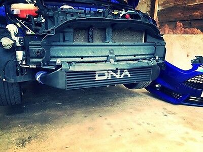Dna Performance Ford Fiesta St180 1.6T Mk7 Black Intercooler Front Mount Fmic