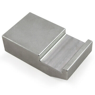 "Tungsten Bucking Bar BB-3: 3.94 lbs, Notched & Angled 1"" x 2"" x 3.5"""