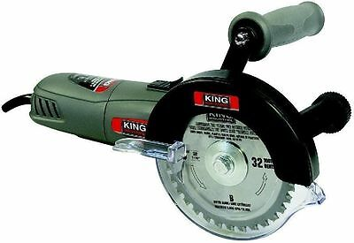 King Canada Tools KC-9125 FIVE 5 INCH DOUBLE CUT SAW KIT tungsten TCT blades NEW