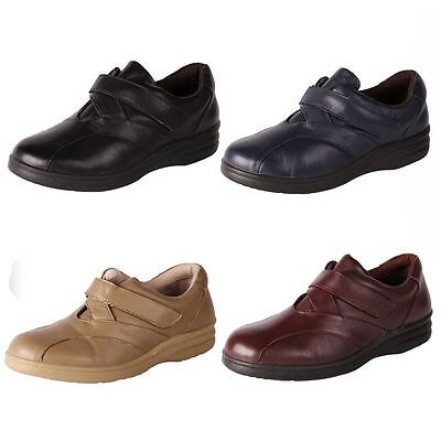 New Pure Comfort Womens Wide Soft Leather Comfort Walking Work Shoe Saturn Cheap