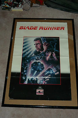 Original 1983 Embassy Home Video BLADE RUNNER POSTER 36 x 23 USA ENGLISH ROLLED
