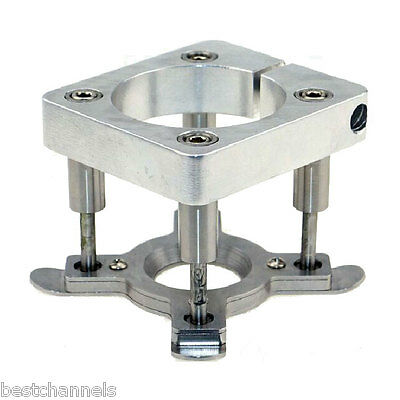 Dia 80mm Automatic Fixture Clamp Plate For 1.5KW/2.2KW CNC Router Engraver Motor