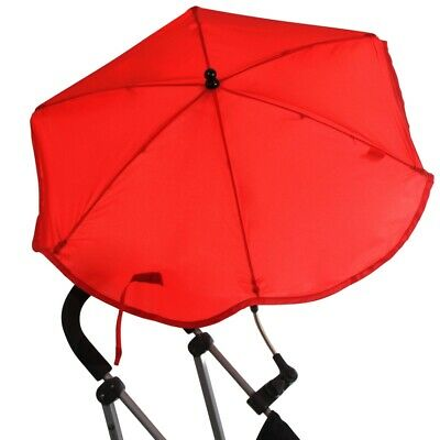 MyChild Baby/Child/Kids Buggy/Pram/Pushchair Sun Protection Parasol - Red