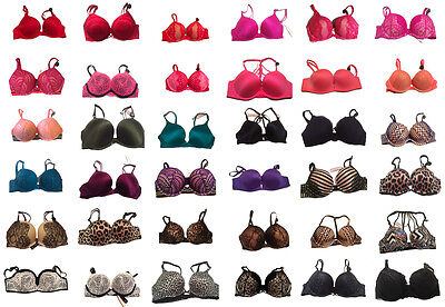 Victoria's Secret NWT Bombshell Push Up Bra ADD 2 CUPS NEW