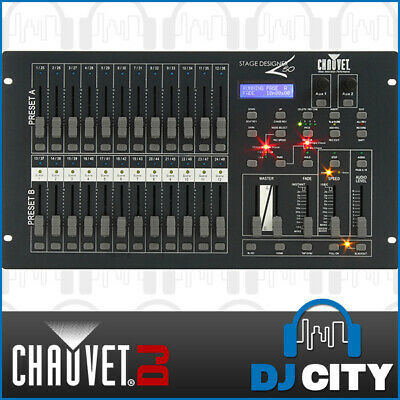 Chauvet STAGEDESIGNER50 DMX Controller Desk 48 Channel With MIDI IN and OUT