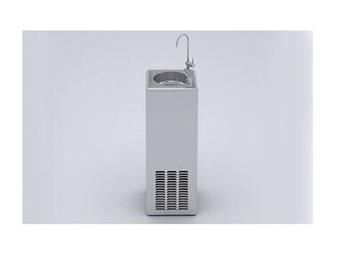 ZIP Chillmaster Floorstanding Bubbler 76013 Stainless Steel with Carafe Filler