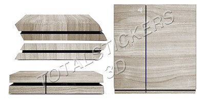 Skin Ps4 Wood Light Style Console Decal Sticker Sk-098