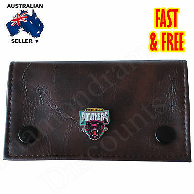 Tobacco Pouch w OFFICIALLY LICENSE LTD EDITION Penrith Panthers NRL badge gift