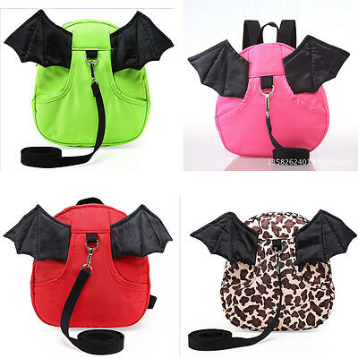 FP Kids Safety Harness Reins Toddler Back pack Anti lost Walking Wings bag