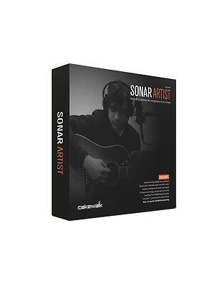 Cakewalk Sonar Artist Recording Sofware For Songwriters And Musicians