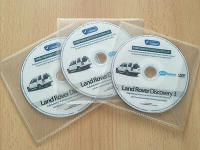 LAND ROVER DISCOVERY 3 • Workshop Service & Repair Manual - Diesel and Petrol