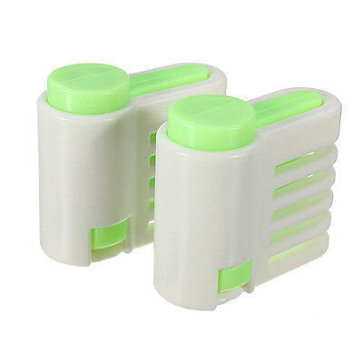 2pc Cake 5 Layer Leveller Slicer Bread Cutter Fixator Cut Guide Tool  S*