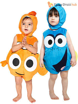 Baby Toddler Disney Finding Nemo Dory Fancy Dress Costume Kids Infant Outfit Hat