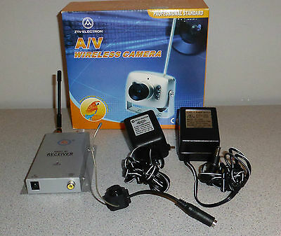Wireless Spy Camera Spycam - ZT-802 w/ Audio, Adapter