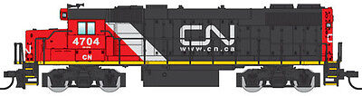 Walthers N Scale GP38-2 Diesel Locomotive Canadian National/CN Stripe #4704