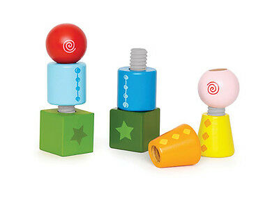 New - HAPE E0416 Twist and Turnables - Age 24 Months + / 8 Pcs