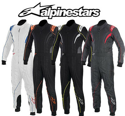Alpinestars KMX-5 Karting Suit for Kart Racing & Autograss, Various Colours