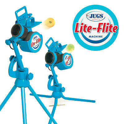 JUGS Lite-Flite Pitching Machine! for Baseball  Softball Curves Sliders Fastball