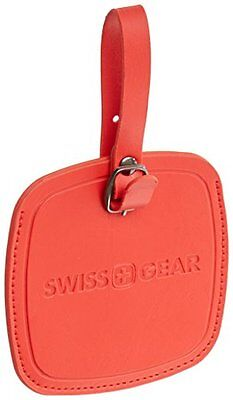 Swiss Gear Jumbo Luggage Tag, Red, One Size