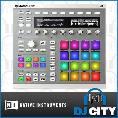 Native Instruments Maschine MK2 White Drum & Groove Studio Controller