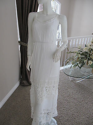 Design Lab Lord Taylor Modele White Dress Size Small 99 46 59