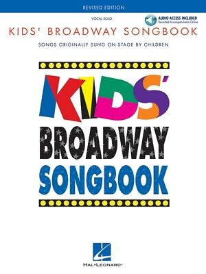 New Kids' Broadway Songbook Music Book & CD - Vocal Solos