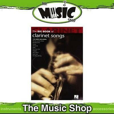 New The Big Book of Clarinet Songs Music Book - 130 Titles!