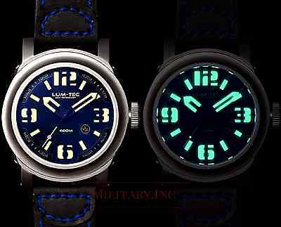 ✅ Lum-Tec Abyss 600M-2 Diver New Gift Mens Watch Limited Edition 150 Pcs Dealer