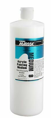 Matisse Acrylic Paintin Medium MM9- 1L, On Special