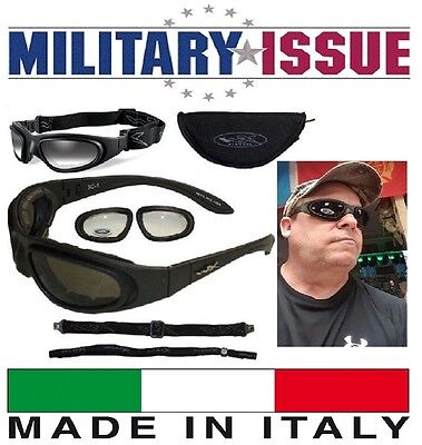 ece2b0b2c2c NEW Wiley X SG-1 Z87-2 Tactical Sunglasses   Goggles Smoke And Clear