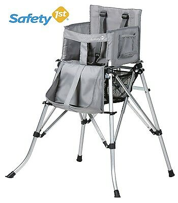 New Safety 1St Quick Sit Folding  Travel High Chair-XTRA POST TO WA,SA,NT&TAS