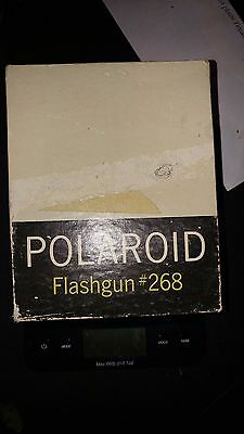 Vintage Camera Equipment POLAROID FLASH GUN #268 with ORIGINAL BOX- No Bulb