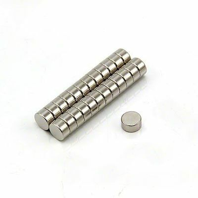 """Lot 100 50 1/4 x 1/8"""" Strong Rare Earth Neodymium Disc Magnets 6 x 3mm Magnet"""