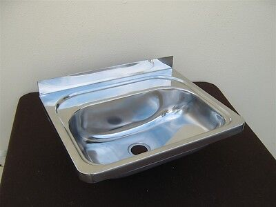 Stainless steel sink / hand basin wall hung BRAND NEW suit boat, campervan etc