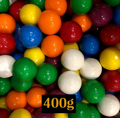 Gum Balls Lolly 400g - 23.5mm diameter -  for Brithday, Party or Lollies Buffet