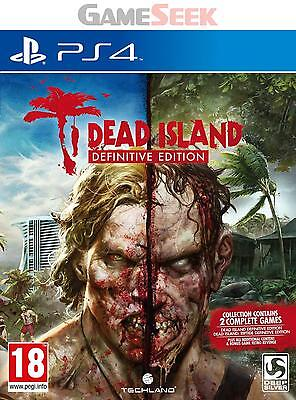 Dead Island: Definitive Edition - Playstation Ps4 Brand New Free Delivery