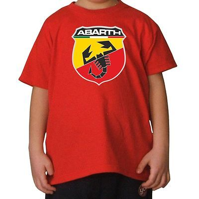 T-Shirt Bambino Abarth 2 Shirtservice