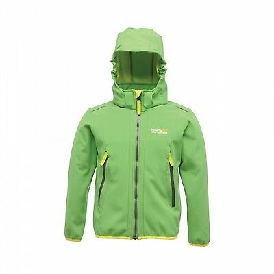 Regatta Adella Boys Water Repellent Wind Resist Softshell Jacket