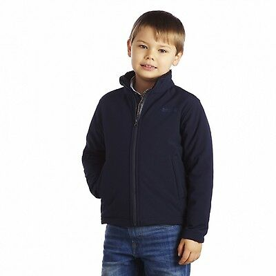 Regatta Tato II Girls Fur-pile Backed Windproof Softshell Jacket