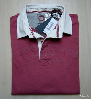 Murphy and Nye Camicia Shirt Casual BLU 100/% new Chemise Uomo Men Logo su fronte