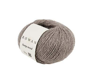 ROWAN HEMP TWEED  -  VARIOUS SHADES - 50g balls