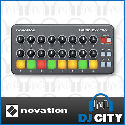 Novation Launch Control iPad USB DJ MIDI Controller for Ableton Live iOS