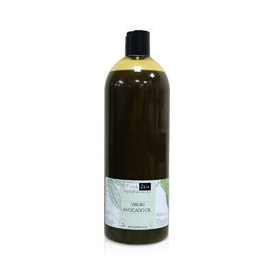 1 Litre Virgin Avocado Oil - 100% Pure Unrefined Cold Pressed (1000ml)