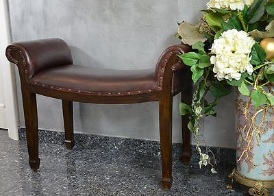 Bench Seater Ottoman Stool Gondola Vintage Modern Stoll Pouf For Corridor Bedroo